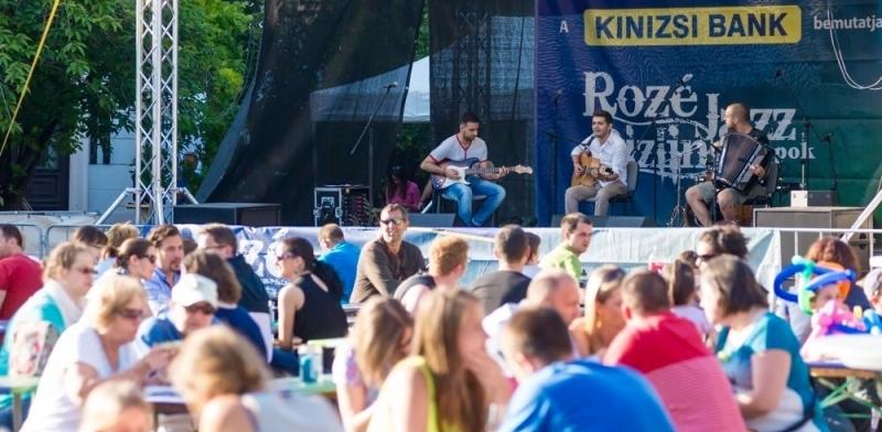Rozé Rizling és Jazz Napok | Veszprém | 2015. július 10.